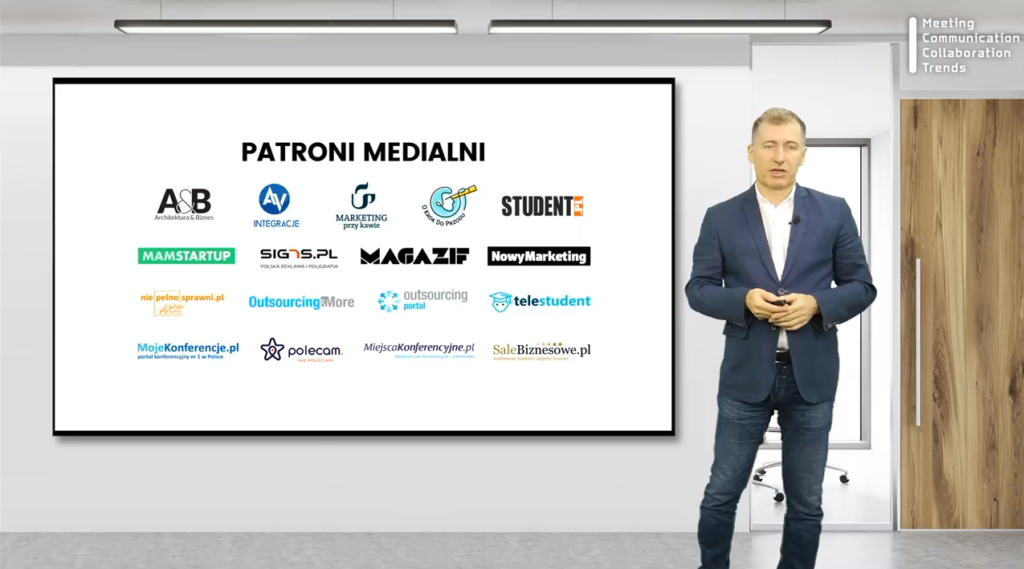 Patroni medialni konferencja MCCT O Krok Do Przodu